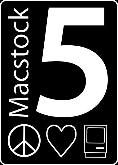 Macstock 5 Years Logo