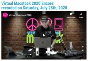 Virtual Macstock Encore